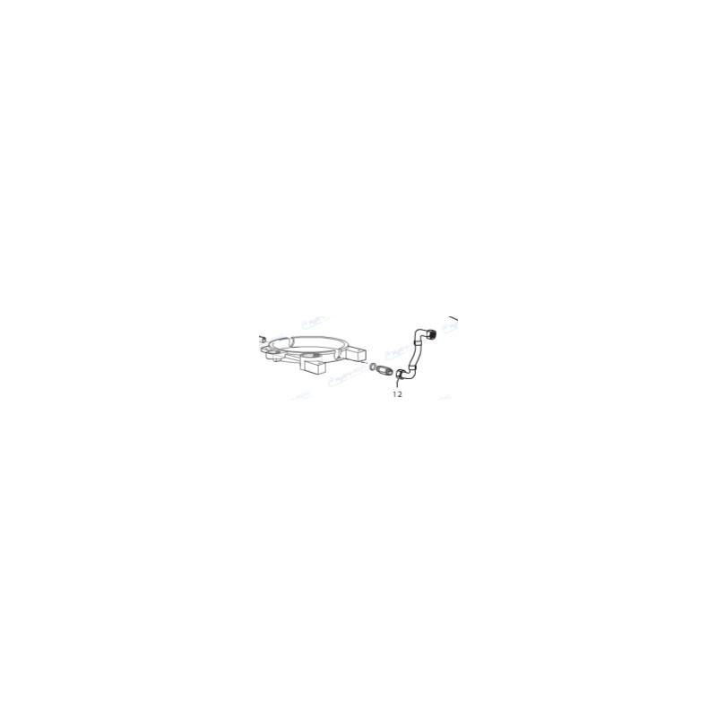 4.618.0067 - FLEXIBLE INTERNE ENTRE CHAUDIERE ET POMPE POUR MEK 1108