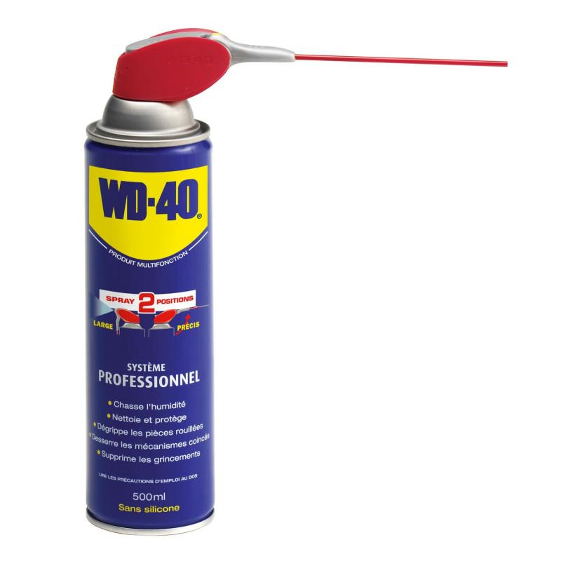 33034 - PRODUIT MULTIFONCTION WD-40 SYSTEME PROFESSIONNEL 500ML