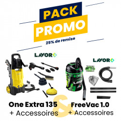 PACK.ONE-FREE - PACK ONE EXTRA 135 + FREE VAC 1.0
