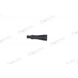"""Raccord 10cm avec entrée et sortie standard 3/4"""" pour raccordement sur entrée d'eau ou tuyau."""